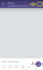 مكالمات الفيديو في فايبر