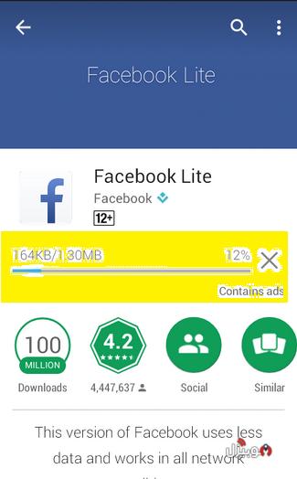 فيس بوك لايت تحميل Facebook Lite 2018 للأندرويد موبيزل