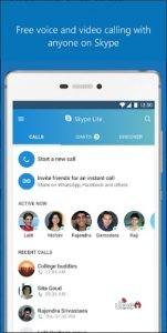 تحميل تطبيق سكايب لايت skype lite للاندرويد