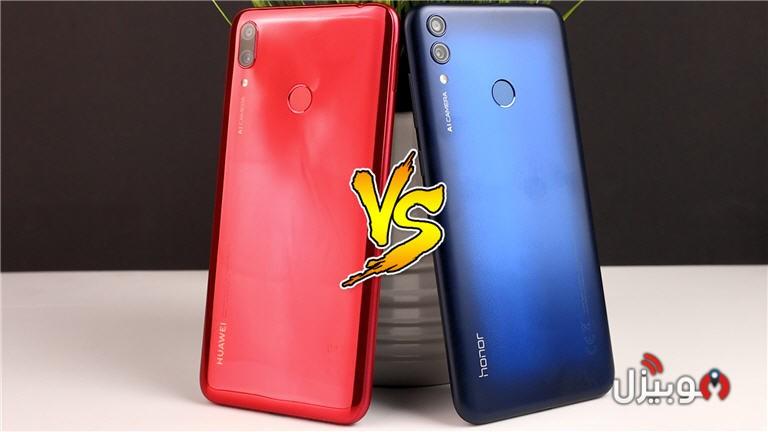مقارنة بين Huawei Y7 2019 و Honor 8C - مين الأفضل وليه ؟! - موبيزل