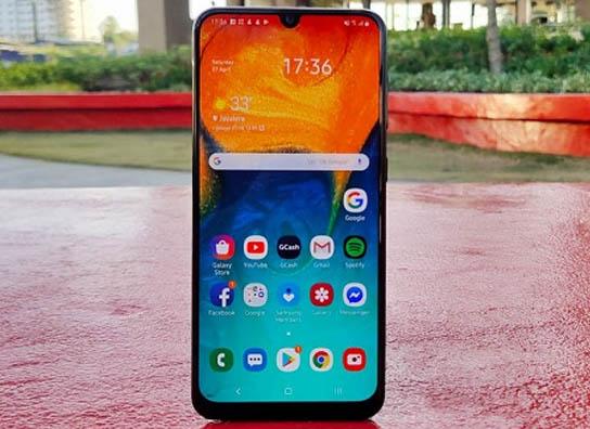 •• أفضل 5 هواتف جديدة من شركة Samsung | العصر الجديد ~ Samsung-Galaxy-A30s-Dis