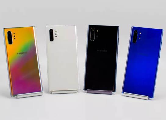 •• أفضل 5 هواتف جديدة من شركة Samsung | العصر الجديد ~ Samsung-Galaxy-Note-10-Plus-Colors
