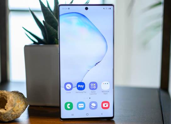 •• أفضل 5 هواتف جديدة من شركة Samsung | العصر الجديد ~ Samsung-Galaxy-Note-10-Plus-Display