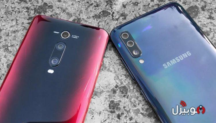 مقارنة Samsung A70 مع Xiaomi Mi 9T – حرب الفئة المتوسطة بدأت !