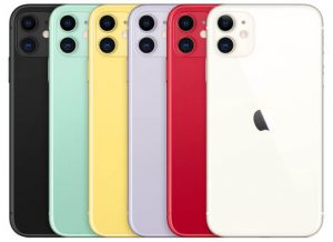Apple iPhone 11 Colors  - مساحات