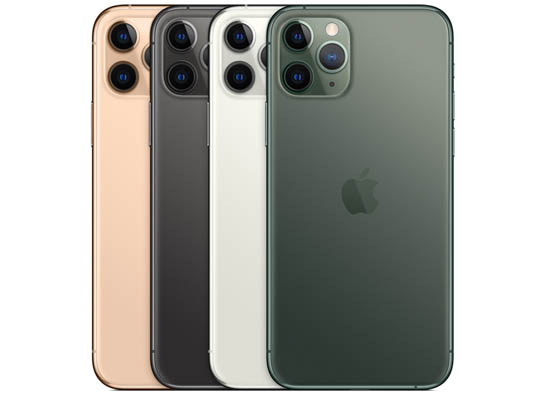 iPhone 11 Pro & iPhone 11 Pro Max Apple-iPhone-11-Pro-Colors