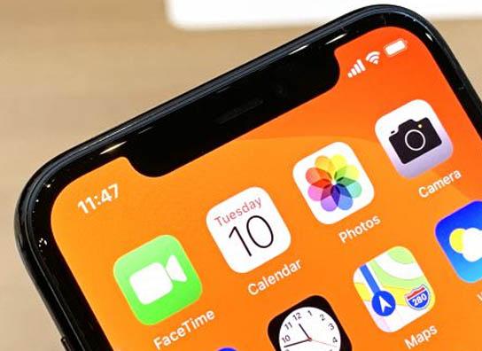 iPhone 11 Pro & iPhone 11 Pro Max Apple-iPhone-11-Pro-Notch