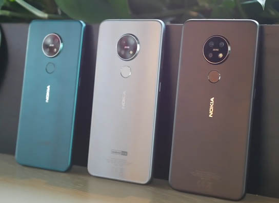 Nokia 7.2 Colors