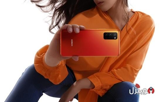Honor V30 Pro Orange