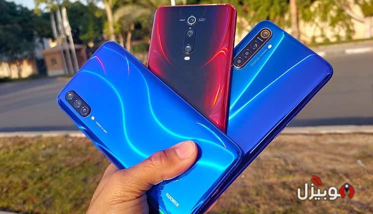 مقارنة بين Xiaomi Mi 9 Lite و Mi 9T و Realme XT – المقارنة المستحيلة وكشف الحقائق !
