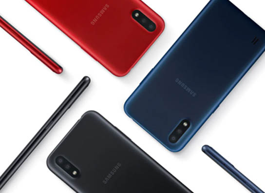 Galaxy A01 Colors