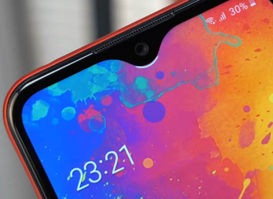 Galaxy A01 Notch
