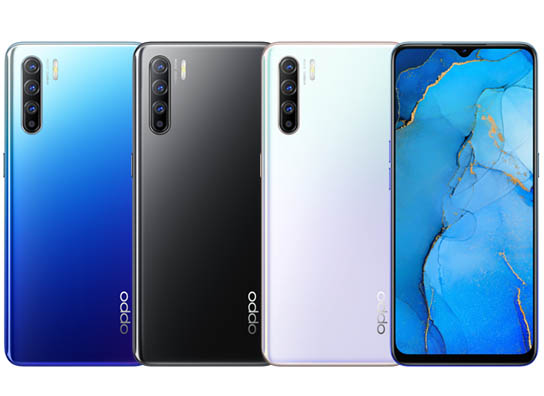 Oppo Reno 3 Colors
