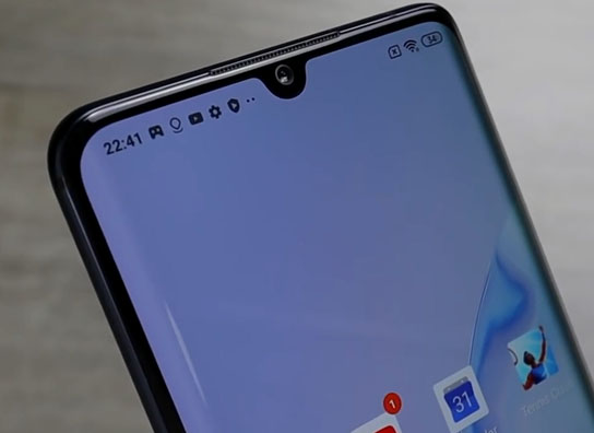 Mi Note 10 Lite Display