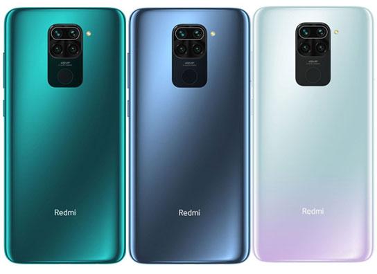 Redmi Note 9 Colors