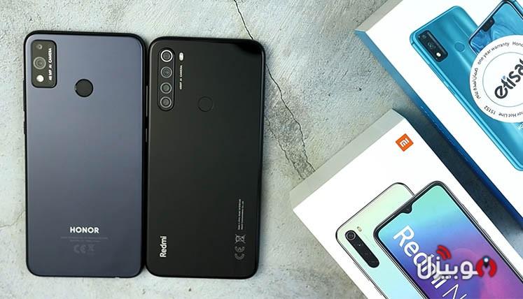 مقارنة Honor 9X Lite مع Redmi Note 8 – أفضل موبايل بسعر 2500 جنية ؟