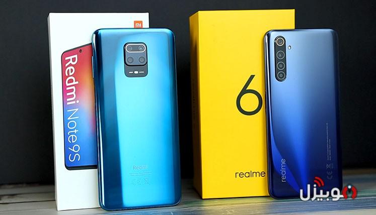 مقارنة Redmi Note 9s مع Realme 6 – تشتري مين فيهم ؟ و ليه ؟