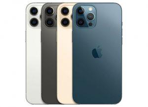 Apple iPhone 12 Pro Max Colors  - جوال السعودية